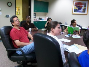 Mental Health First Aid workshop participants